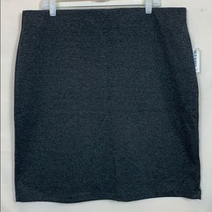 NWT Old Navy Gray Skirt Size XL